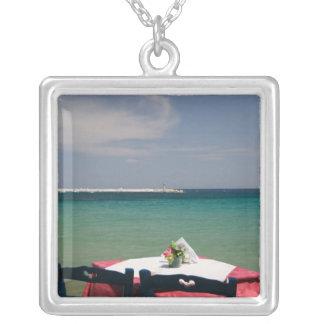 GREECE, Northeastern Aegean Islands, SAMOS, 4 Silver Plated Necklace