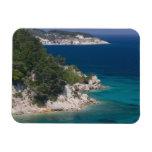 GREECE, Northeastern Aegean Islands, SAMOS, 6 Rectangular Photo Magnet