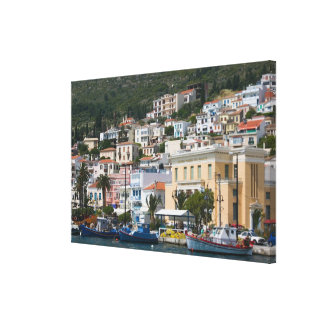 GREECE, Northeastern Aegean Islands, SAMOS, Canvas Print