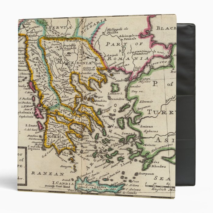 Greece or the south part of Turkey in Europe Binder
