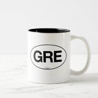 Greece Oval Mug