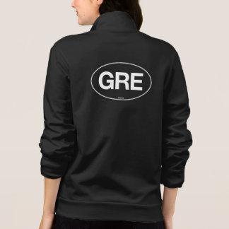 Greece Oval Printed Jacket