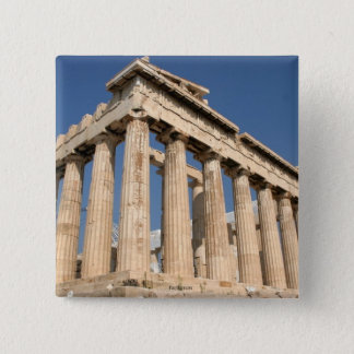 GREECE: Parthenon pinback button