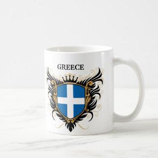 Greece [personalize] classic white coffee mug