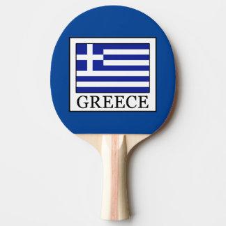 Greece Ping Pong Paddle