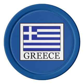 Greece Poker Chips