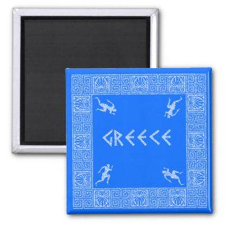 greece refrigerator magnet