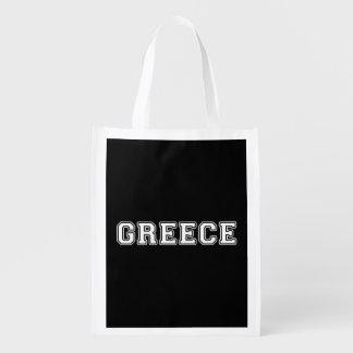 Greece Reusable Grocery Bag