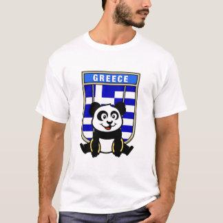 Greece Rings Panda T-Shirt