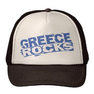 Greece Rocks Trucker Hat