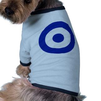 Greece Roundel Dog Shirt
