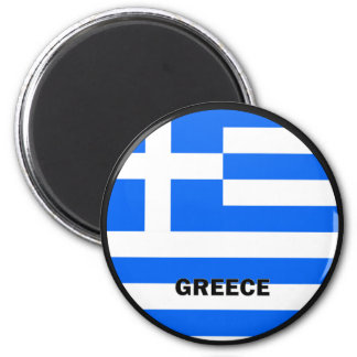 Greece Roundel quality Flag Magnet