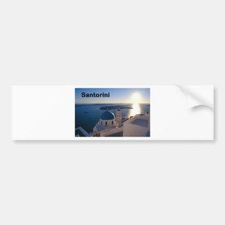 Greece Santorini Sunset (St.K) Bumper Sticker
