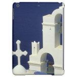 Greece, Santorini. View of a Greek church and iPad Air Cases