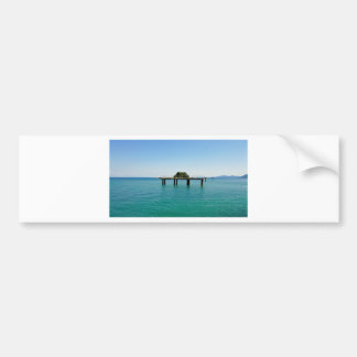 greece sea bumper sticker