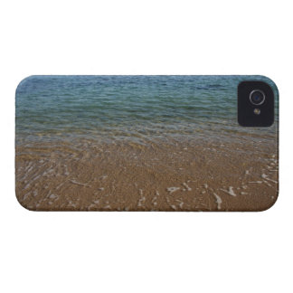 Greece, Serifos. View from clear beach water iPhone 4 Case-Mate Case