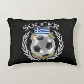 Greece Soccer 2016 Fan Gear Accent Pillow