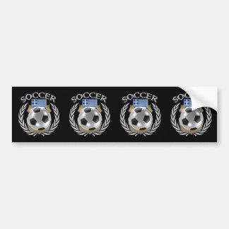 Greece Soccer 2016 Fan Gear Bumper Sticker
