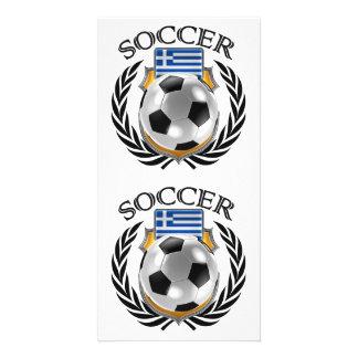 Greece Soccer 2016 Fan Gear Card