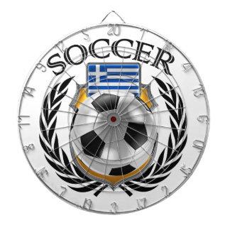 Greece Soccer 2016 Fan Gear Dartboard With Darts