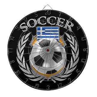 Greece Soccer 2016 Fan Gear Dartboards