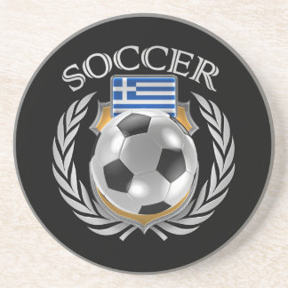 Greece Soccer 2016 Fan Gear Drink Coaster