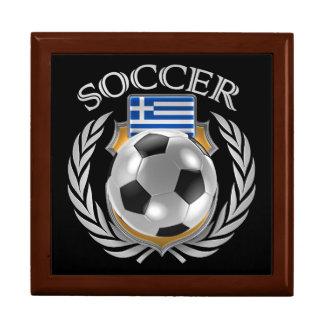 Greece Soccer 2016 Fan Gear Jewelry Box