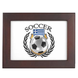 Greece Soccer 2016 Fan Gear Keepsake Box