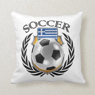 Greece Soccer 2016 Fan Gear Pillow