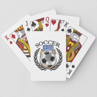 Greece Soccer 2016 Fan Gear Playing Cards