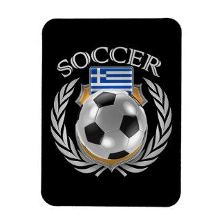 Greece Soccer 2016 Fan Gear Rectangular Photo Magnet