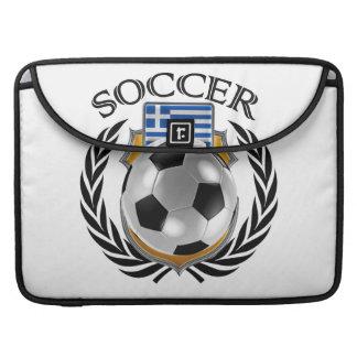 Greece Soccer 2016 Fan Gear Sleeve For MacBooks