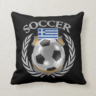 Greece Soccer 2016 Fan Gear Throw Pillow