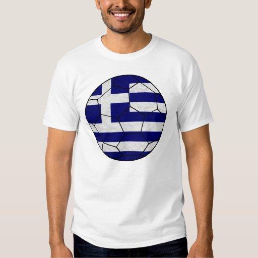 Greece Soccer Ball T-shirt