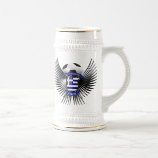 Greece Soccer Champions Beer Stein