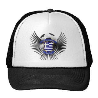 Greece Soccer Champions Mesh Hats