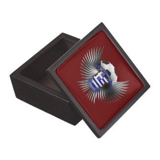 Greece Soccer Champions Premium Keepsake Box