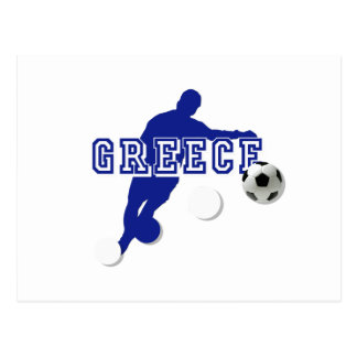 Greece Soccer Postcard