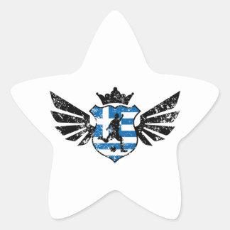 Greece soccer star sticker