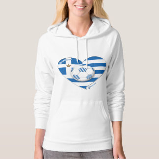 """GREECE"" soccer team. Greece soccer 2014 Football Hoodie"