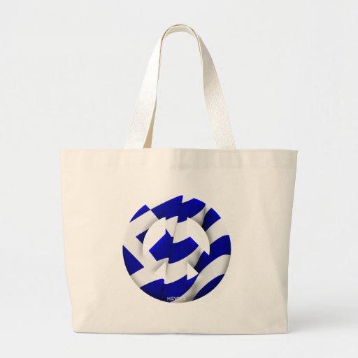 Greece Tote Bags