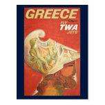 Greece Travel Postcard