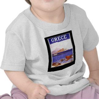 greece Travel vacation holiday Shirt Tshirt