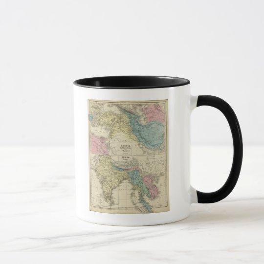Greece, Turkey, Persia, India Mug