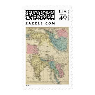 Greece, Turkey, Persia, India Postage Stamps
