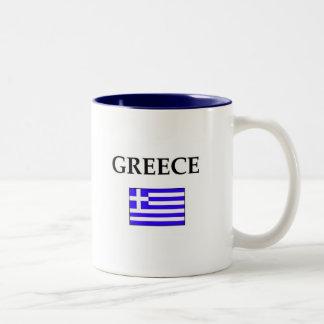Greece Two-Tone Coffee Mug