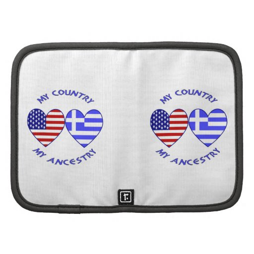 Greece / USA Country Ancestry Planner