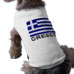 Greece Vintage Flag Pet Clothes