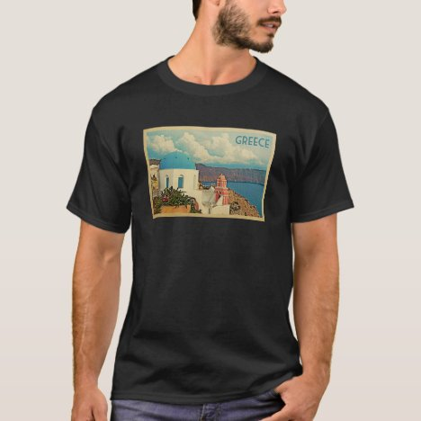 Greece Vintage Travel T-shirt