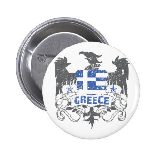Greece Winged Button